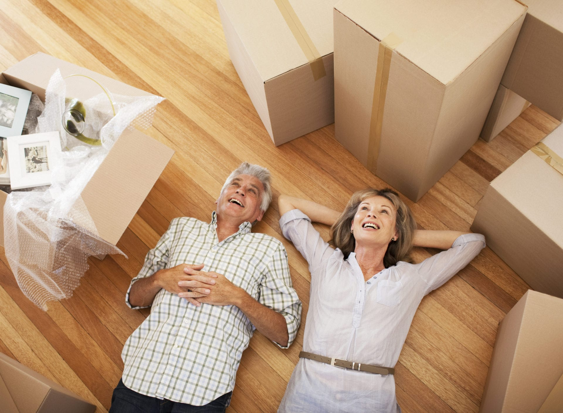 Seniors downsizing